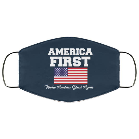 America First MAGA Reusable Daily Face Mask
