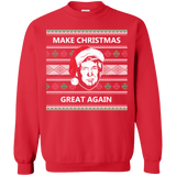 Make Christmas Great Again Trump Sweatshirt