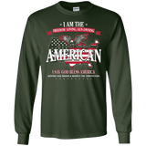 Politically Incorrect American  Patriotic Long Sleeve T-Shirt