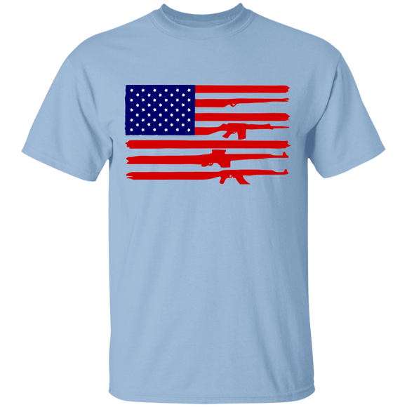 American Rifle Flag T-Shirt - 5.3 oz. T-Shirt