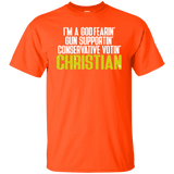 God-Fearing Conservative Tee Shirt