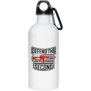 Defend the 2nd Amendment AR-15 20 oz. Stainless Steel Water Bottle