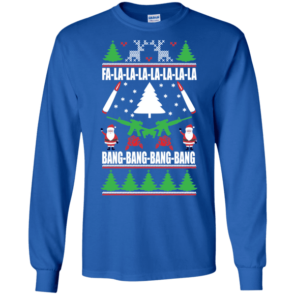 Christmas Guns Long Sleeve T-Shirt