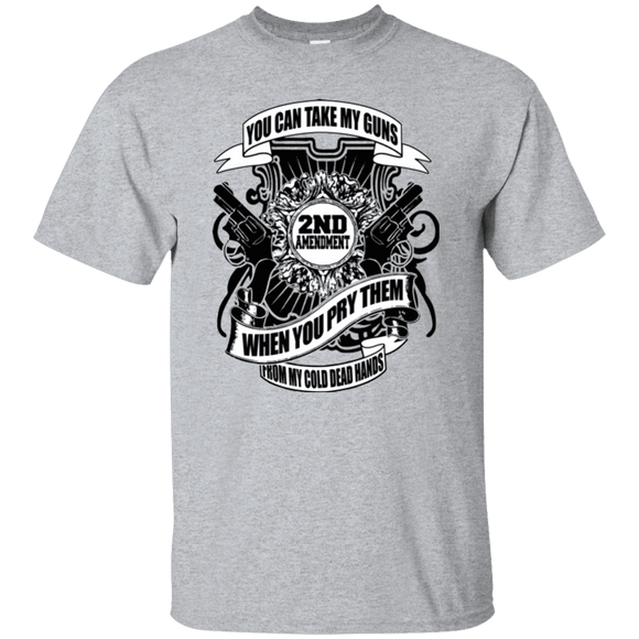 Great Looking 2nd Amendment 'Cold Dead Hands' Shirt!