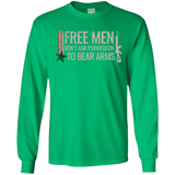 Free Men Don't Ask to Bear Arms T-Shirt