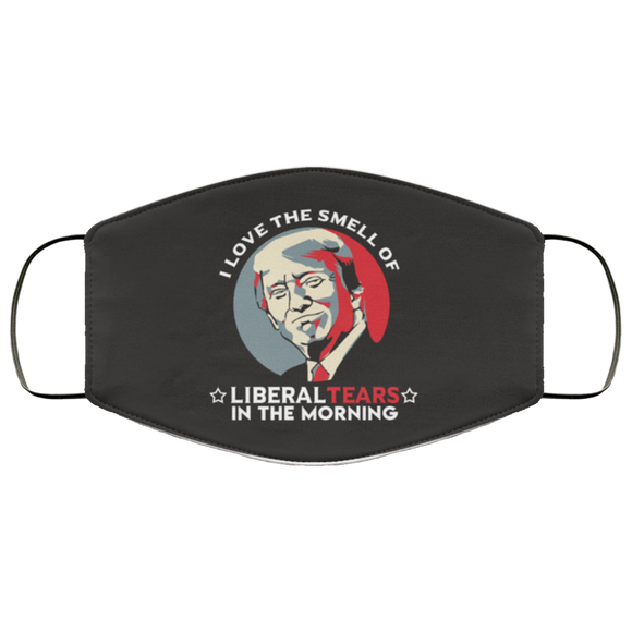 Hilarious Trump Liberal Tears Reusable Daily Face Mask
