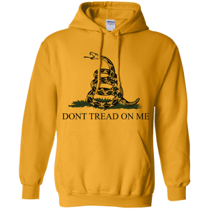 Don't Tread on Me Themed  Pullover Hoodie