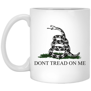 Don't Tread on Me Gun Owner White Mug