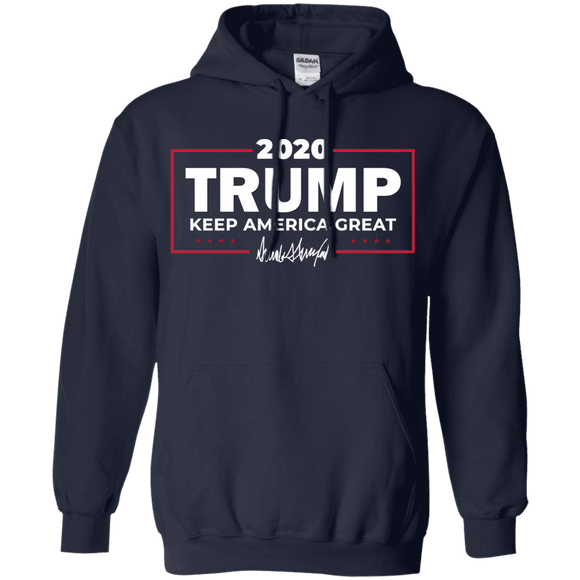 Keep America Great Trump 2020 Signature Hoodie