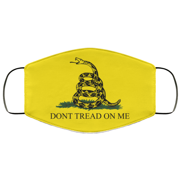 Don't Tread on Me Reusable Daily Face Mask