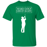Trump Make Golf Great Again Short Sleeve. T-Shirt