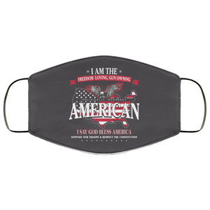 Politically Incorrect Conservative Reusable Daily Face Mask
