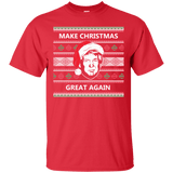 Make Christmas Great Again Trump T-Shirt