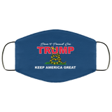 Don't TREAD on TRUMP! Re-usable Face Mask