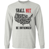 Shall Not Be infringed Alternate Long Sleeve T-Shirt