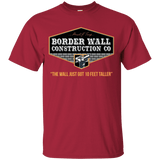 Trump Border Wall Construction Co. T-Shirt