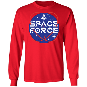 Trump Space Force Commemorative Long Sleeve T-Shirt