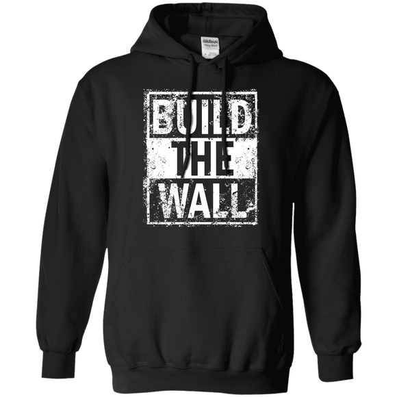 Build The Wall Trump Hoodie