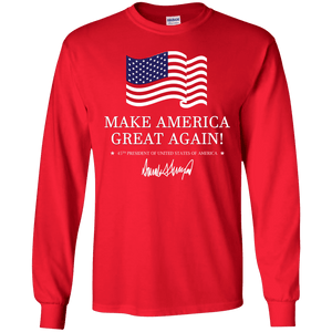 Make America Great Again Trump Long Sleeve T-Shirt
