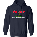 Don't TREAD on TRUMP Pullover Hoodie 8 oz.