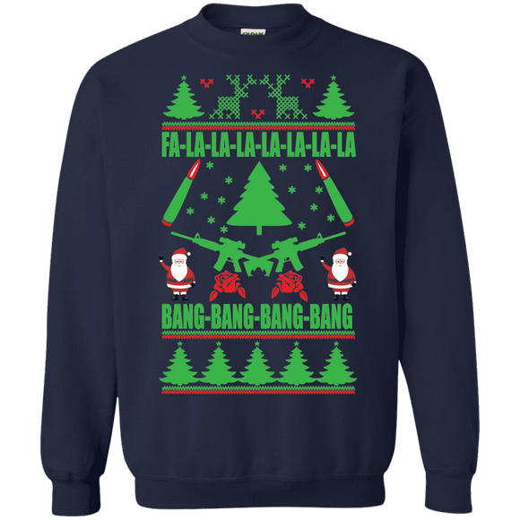 Christmas Guns Alternate Sweatshirt