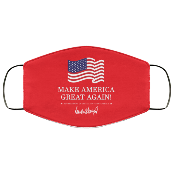 Trump Make America Great Again (MAGA) Reusable Daily Face Mask