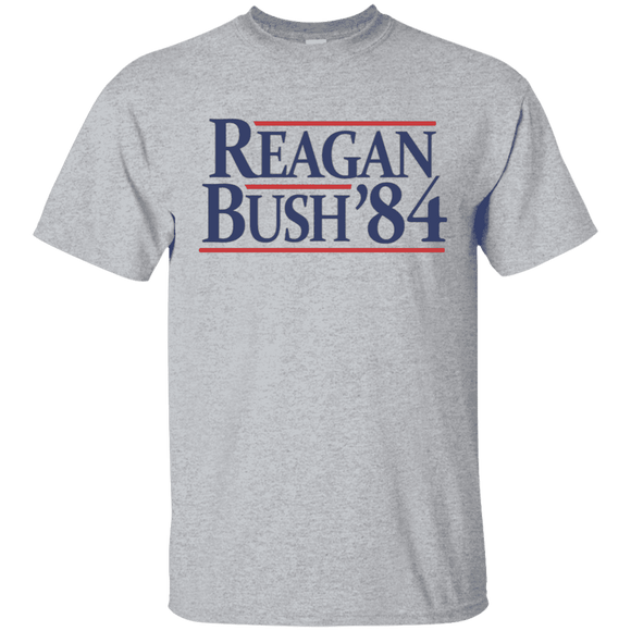 Reagan Bush '84 Presidential Election Retro T-Shirt
