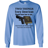 Guns And The Bible Long Sleeve T-Shirt