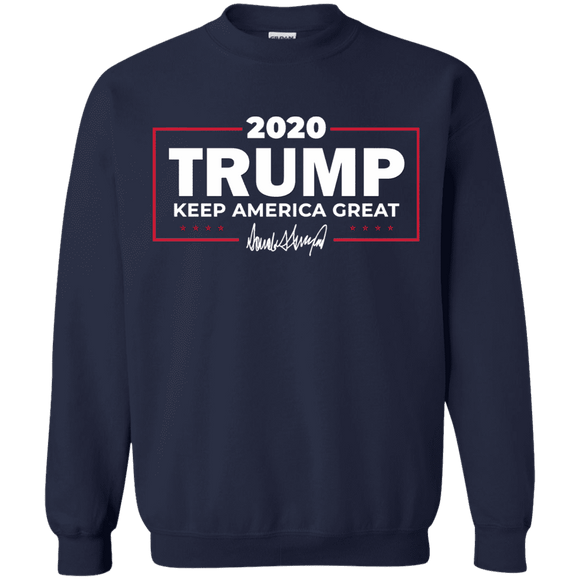 Keep America Great Trump 2020 Signature Sweatshirt