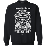 Money and Happiness Pro-Gun Rights Sweatshirt