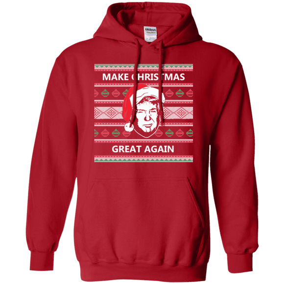 Make Christmas Great Again Trump Hoodie