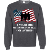 I Stand For The Anthem Patriotic Sweatshirt
