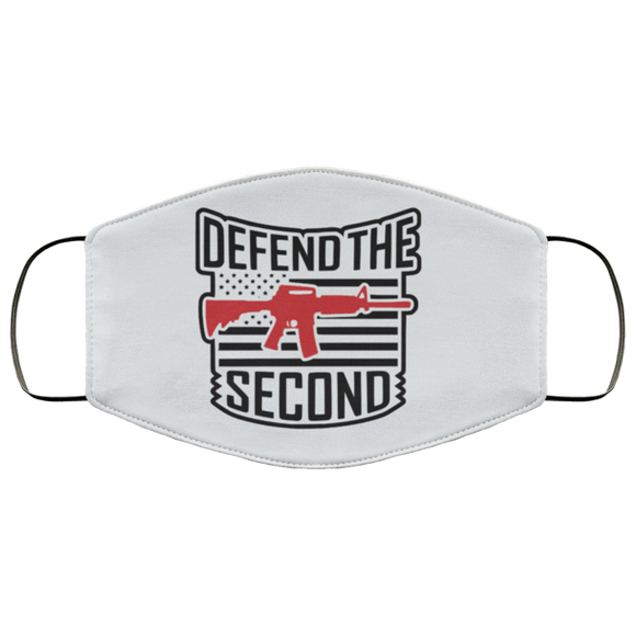 Defend the 2nd Amendment Reusable Face Mask
