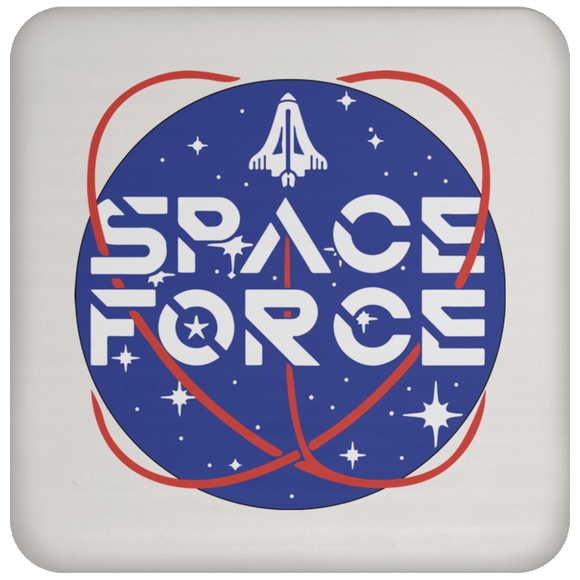 Trump's Space Force Logo Drink Coaster