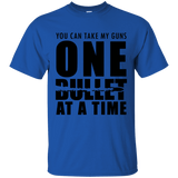 One Bullet At A Time Gun Rights T-Shirt