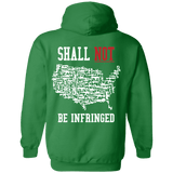 Shall Not Be Infringed Hoodie (Back)