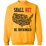 Shall Not Be infringed Alternate Sweatshirt