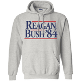 Reagan Bush '84 Presidential Election Retro Hoodie