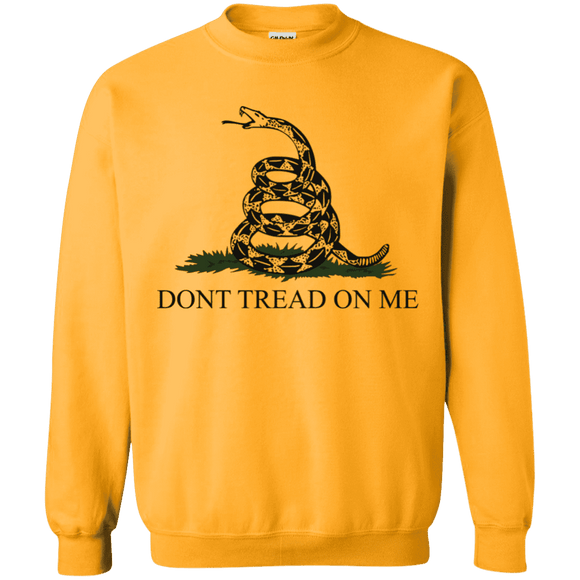 Don't Tread on Me Themed  Pullover Sweatshirt