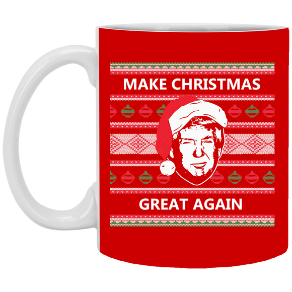 Make Christmas Great Again Trump Coffee Mug!