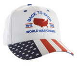 Back-to-Back World War Champs Hat