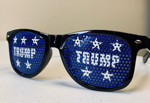 Trump Blue Star Sunglasses