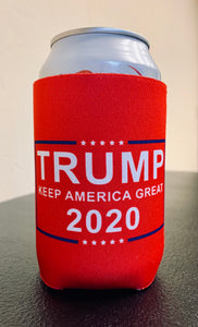 Red Trump 2020 Drink Koozie