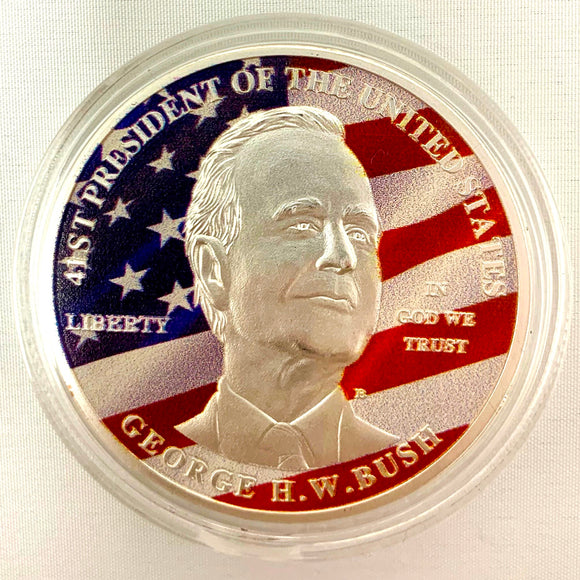 George H.W. Bush Coin