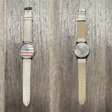 Patriotic American Watch with White Band