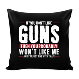 Pro Gun Rights Pillow Case