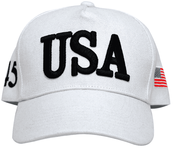 Trump's White USA Hat [2020 CAMPAIGN EDITION]
