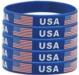 Patriotic Blue Wristband