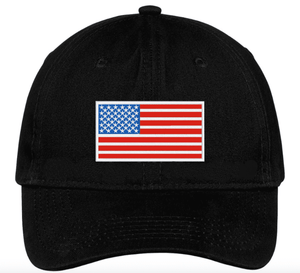 Black American Flag Hat