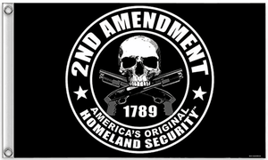 2nd Amendment - America's Original Homeland Security Flag